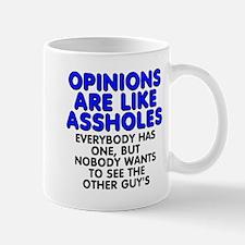 Opinions are like - Mug