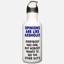 Opinions are like - Water Bottle