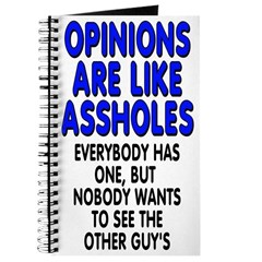 Opinions are like - Journal