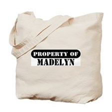 Property of Madelyn Tote Bag