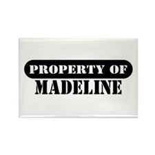 Property of Madeline Rectangle Magnet