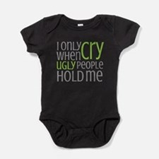 Crying Baby Baby Bodysuit
