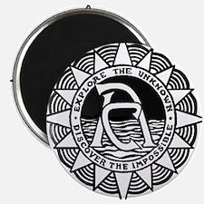 Adventurers Club Original Logo B&W Magnets