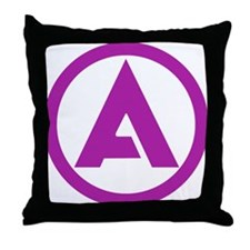ALLIANCE Solid Color Logo Throw Pillow