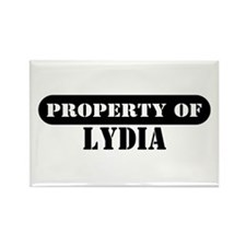 Property of Lydia Rectangle Magnet