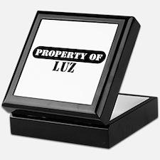 Property of Luz Keepsake Box