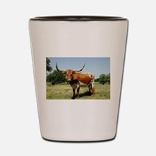 Longhorn Cow Shot Glass