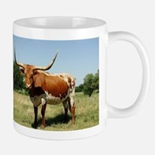 Longhorn Cow Mugs