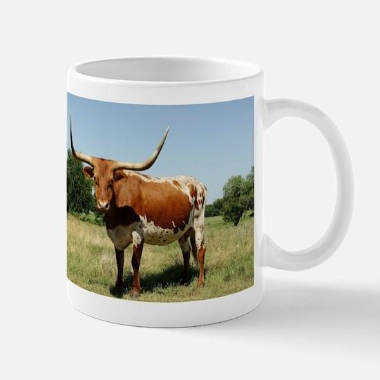 Longhorn Cow Mugs