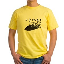Flying Crow Feather T