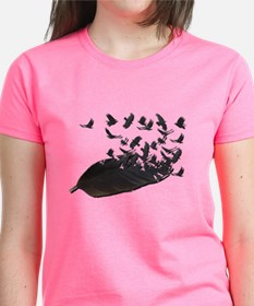 Flying Crow Feather Tee