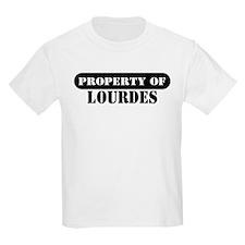 Property of Lourdes Kids T-Shirt