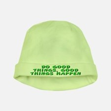 Do good things - baby hat