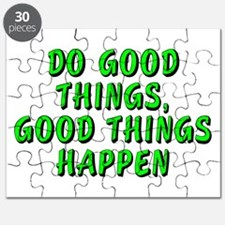 Do good things - Puzzle