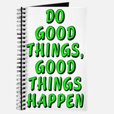 Do good things - Journal