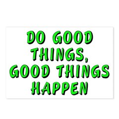 Do good things - Postcards (Package of 8)