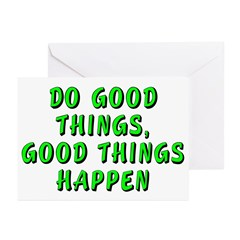 Do good things - Greeting Cards (Pk of 10)