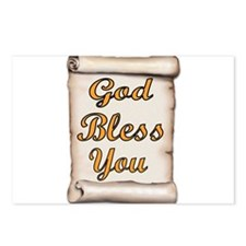 GOD BLESS YOU Postcards (Package of 8)