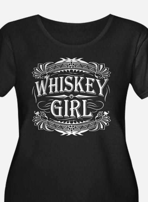 Whiskey Girl Classy Plus Size T-Shirt