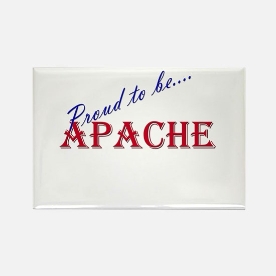 Apache Rectangle Magnet