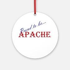 Apache Ornament (Round)