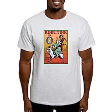 Rinkitink in Oz Ash Grey T-Shirt