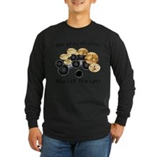 Me Play Drums Long Sleeve T-Shirt