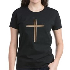 Cross - Drumsticks T-Shirt