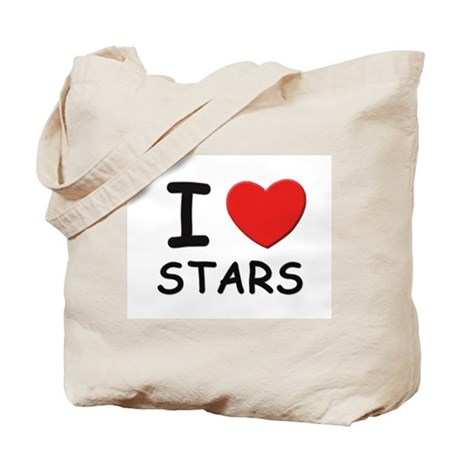 I love stars Tote Bag