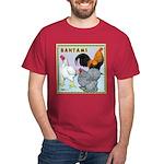 Bantam Chickens Dark T-Shirt