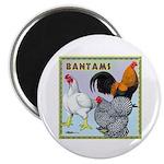 Bantam Chickens Magnet
