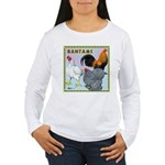 Bantam Chickens Women's Long Sleeve T-Shirt