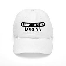 Property of Lorena Baseball Cap
