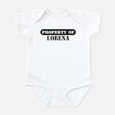 Property of Lorena Infant Bodysuit