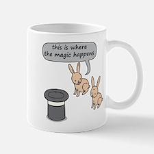 Rabbits and Magic Small Small Mug