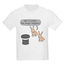 Rabbits and Magic T-Shirt