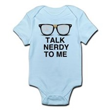 Talk Nerdy to Me. Body Suit