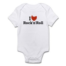 I Love Rock n Roll Infant Bodysuit