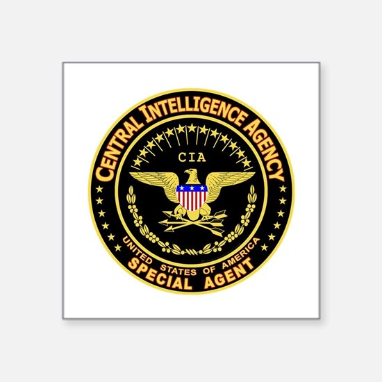 CIA CIA CIA Rectangle Sticker