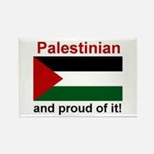 Proud Palestinian Rectangle Magnet