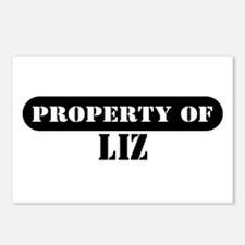 Property of Liz Postcards (Package of 8)