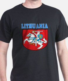 Lithuania Coat Of Arms Designs T-Shirt
