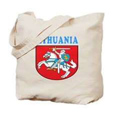 Lithuania Coat Of Arms Designs Tote Bag