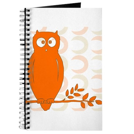 Owl on Branch Journal