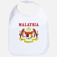 Malaysia Coat Of Arms Designs Bib