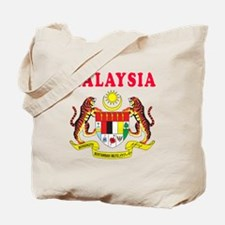 Malaysia Coat Of Arms Designs Tote Bag