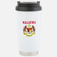 Malaysia Coat Of Arms Designs Stainless Steel Trav