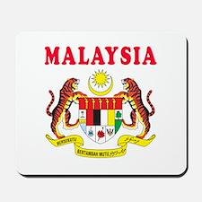 Malaysia Coat Of Arms Designs Mousepad