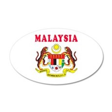 Malaysia Coat Of Arms Designs Wall Decal
