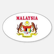 Malaysia Coat Of Arms Designs Decal